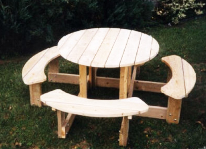 Table De Picnic En Bois A Vendre Revia Multiservices