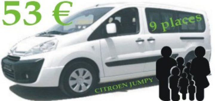Location minibus 12 places super u