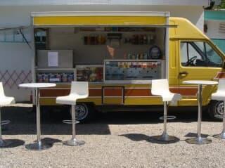 Camion snack à vendre