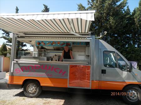 Camion snack a vendre au maroc