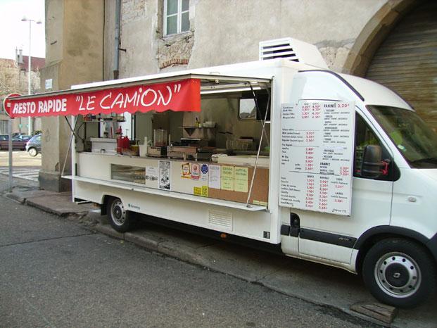 Restaurant mobile à vendre