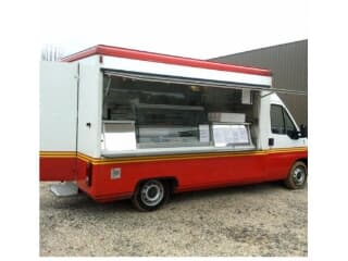 Camion ambulant snack