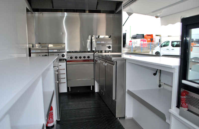 Camion amenager cuisine
