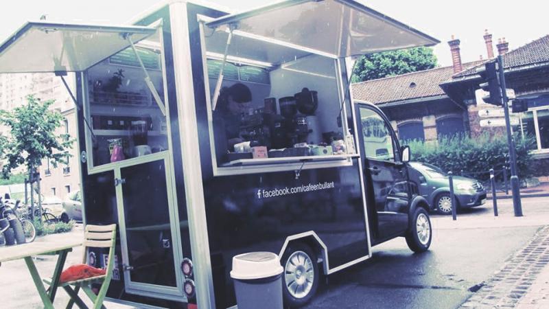 Camion café ambulant