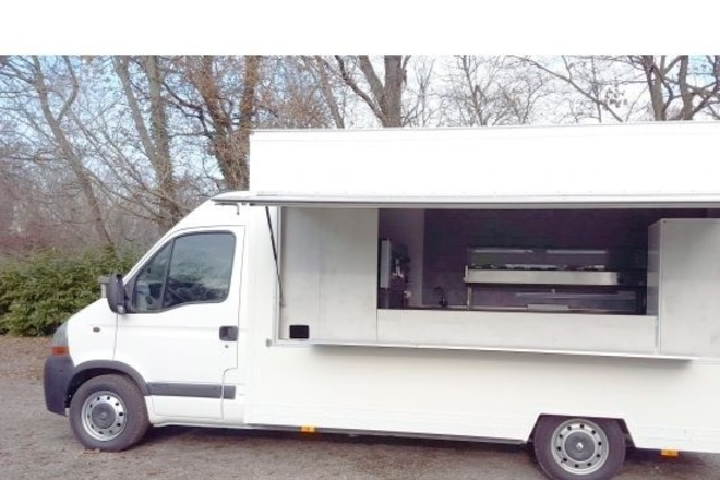 Camion magasin snack food truck