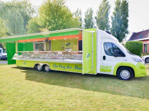 Camion restauration rapide a vendre