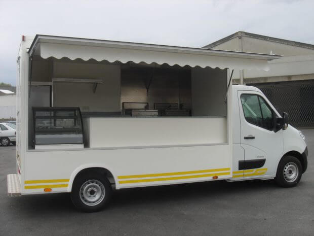 Camion snack neuf