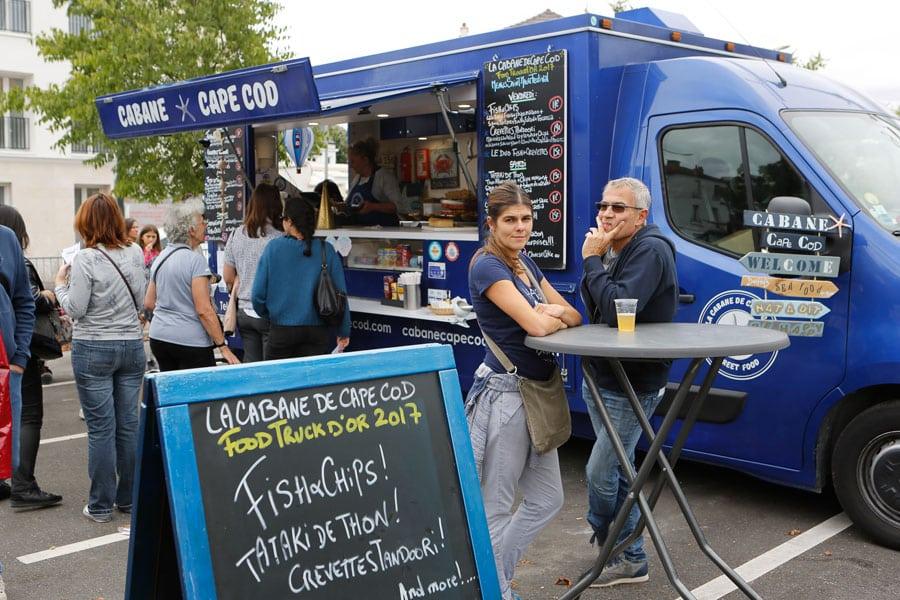 Emplacement food truck prix