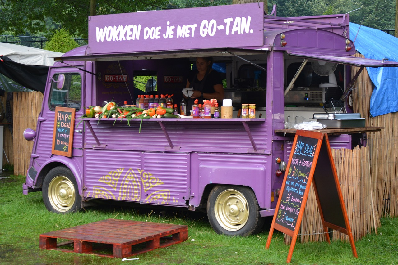 Food truck camion