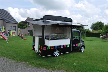 Food truck creperie occasion
