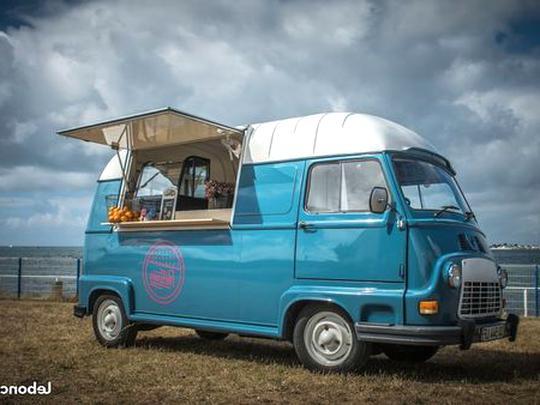 Food truck vintage occasion