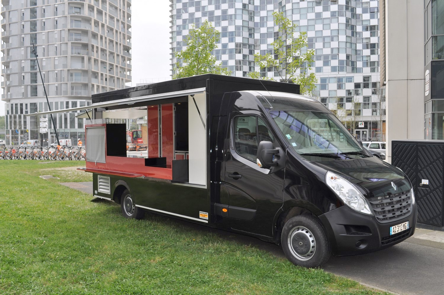 Camion magasin food truck