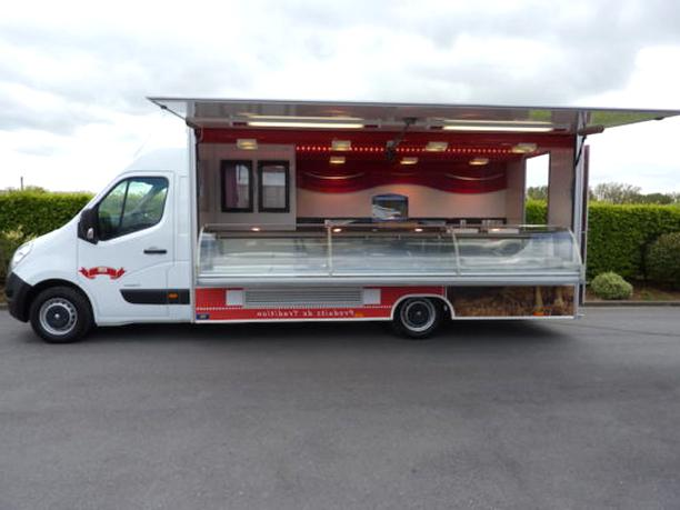 Camion snack vide