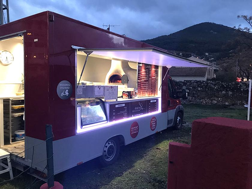 Prix camion pizza occasion