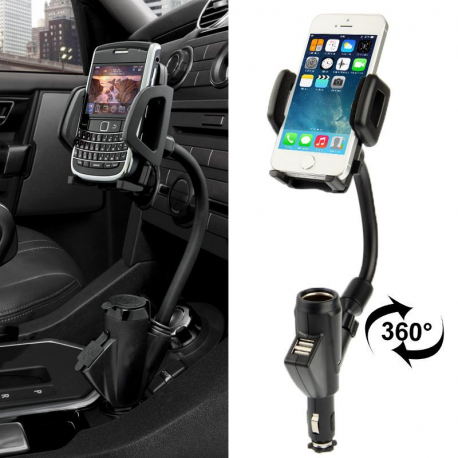 Support chargeur telephone voiture